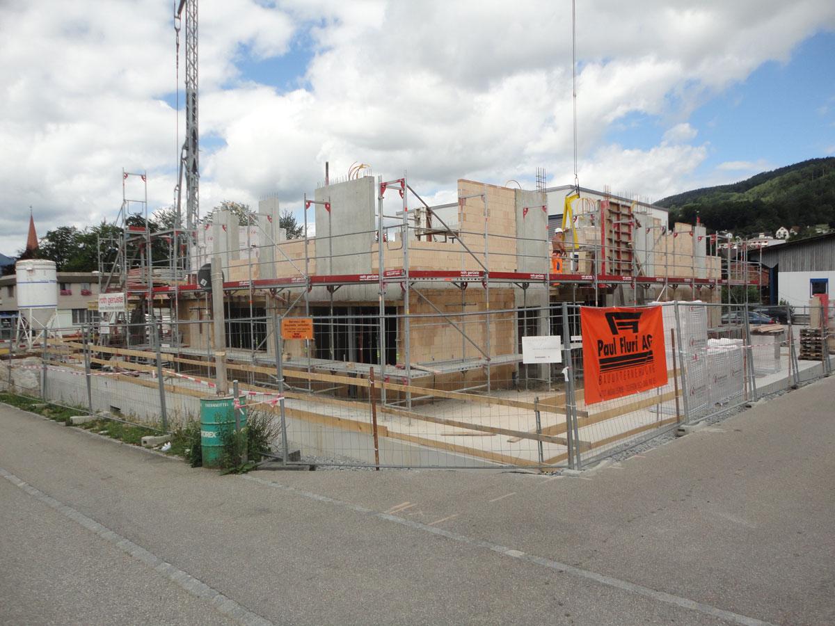 Aerztehaus-balsthal-Bauphase-2