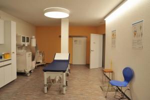 Aerztehaus-Balsthal-Behandlungsraum Orthopädie